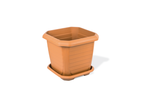 Outdoor Square Plant Pot Small