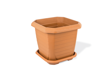 Outdoor Square Plant Pot Medium